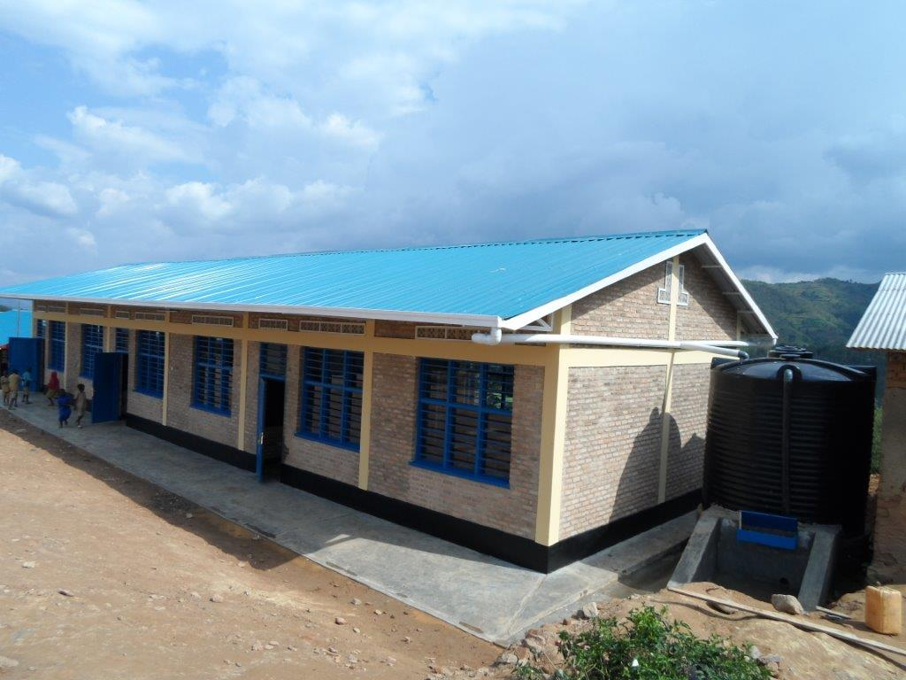 Neues Projekt – unsere Schule Groupe Scolaire in Nyamiyaga